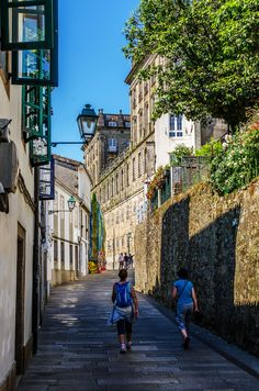 San Clemente - Turismo nas ruas de Compostela San Clemente, Villa, Street View, Travel, Beautiful, The Streets, Santiago De Compostela, Camino De Santiago, 1st Century