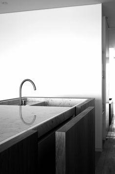 kitchen // DM residence // Knokke, Belgium // Vincent Van Duysen