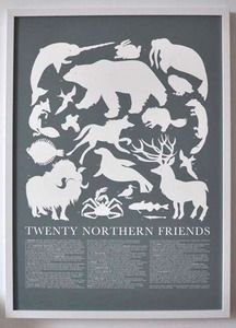 Banquet: Northern Animals Poster.
