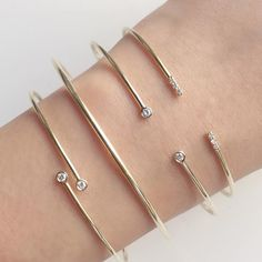 Vale Jewelry Origins Bangles, Quotidien Bangle and Phoebe Cuff