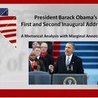 rhetorical analysis on president barack obama s inaugural address The presidential farewell address used to on tuesday night president barack obama gave obama has mastered classic rhetorical devices that project.