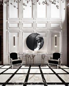 Classic Interior, Modern Interior Design, Interior Styling, Interior Decorating, Luxury Homes Dream Houses, Luxury Homes Interior, Design Studio Office, Toilet Design, Luxurious Bedrooms