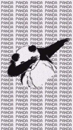 Imagen de panda, wallpaper, and background