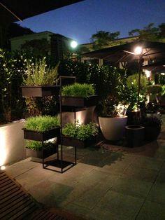 Jardineira área externa - casa cor 2013