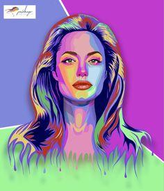 #illustration #angelinajolie Angelina Jolie, Disney Characters, Fictional Characters, Disney Princess, Creative, Illustration, Design, Art, Photo Retouching