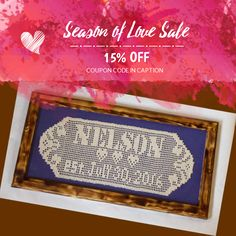 We are happy to announce 15% OFF on our Entire Store. Coupon Code: LOVE2017.  Min Purchase: $20.00.  Expiry: 11-Feb-2017.  Click here to avail coupon: https://www.etsy.com/shop/BeesHandmadeGifts?utm_source=Pinterest&utm_medium=Orangetwig_Marketing&utm_campaign=Coupon%20Code   #etsy #etsyseller #etsyshop #etsylove #etsyfinds #etsygifts #loveit #instagood #instacool #shop #shopping #onlineshopping #instashop #musthave #instafollow #photooftheday #picoftheday #love #OTstores #smallbiz #sale…