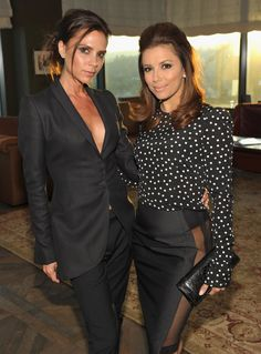 Pin for Later: Celebrate Best Friend Day With Our Favorite Celeb BFFs Victoria Beckham and Eva Longoria