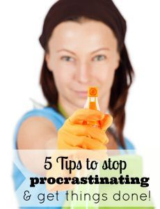 5 Tips to stop procrastination & get things done! time management, stop procrastinating Becoming A Better You, How To Become, How To Get, Website Blocker, Organized Mom, How To Stop Procrastinating, How To Better Yourself, Things To Know, Getting Things Done