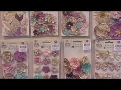 Butterfly Collection by Jodi Lee from Prima - CHA 2015 Video