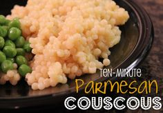 I have already posted one simple recipe for Parmesan Couscous, but this one is even easier.  I made it with Israeli (large-pearl) couscous.  My kids LOVE it.  Next time, I'm going to double the recipe because everyone wanted more. 1 … Continue reading →
