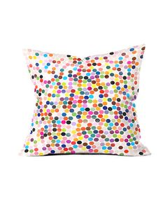 Another great find on #zulily! Polka Dot Dance Throw Pillow by DENY Designs #zulilyfinds
