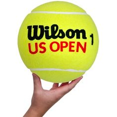 "Wilson 10"" US Open Jumbo Tennis Ball : Tennis Gifts & Novelties at HolabirdSports.com"