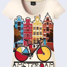 Amsterdam Fashion Women's T-Shirt   Fashion-Gifts