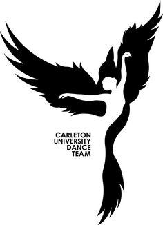 Carleton University Dance Team Logo on Behance