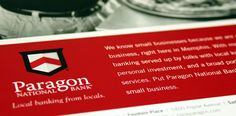 A personal twist on a small business print campaign - Paragon National Bank