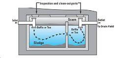 scum in septic tank | Septic Tank