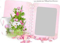 Felicitari personalizate cu poza ta - Album foto cu flori.