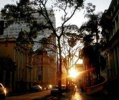 Centro Histórico em Porto Alegre, RS
