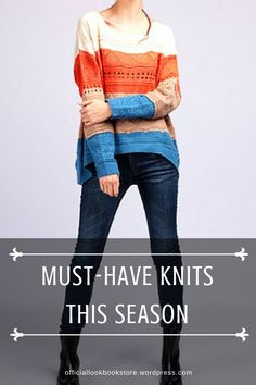 List of must-have knits this fall and winter. | Lookbook Store Style Tips