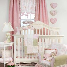 Isabella 3 Piece Baby Crib Bedding by Glenna Jean Image - glj34140 - Type 1