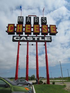 Mars Cheese Castle..... Kenosha, WI. Yes I have been there I have pictures to prove it