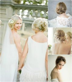 Top 3 Popular Up-do Tutorials by Clip in Cheap Hair Extensions wedding hairstyles