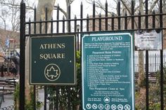 Athens Square Park, Astoria Queens, NY