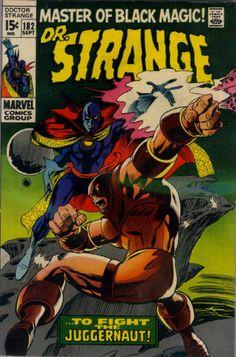 COMIC dr strange 182 #comic #cover #art