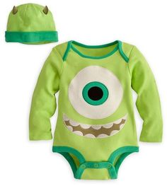 Very cute! But at $50 I would sew my own. (; ERM -   Disney Store Mike Wazowski Onesie Costume Bodysuit Size 6-12 Months with Hat by Disney Store, http://www.amazon.com/dp/B00BCSJFZK/ref=cm_sw_r_pi_dp_f58esb15F9YXK