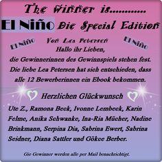 Leserattes Bücherwelt: [El Nino - Spezaial Edition] Die Gewinner stehen f...