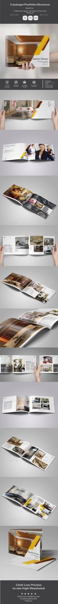 Multipurpose Portfolio #portfolio #interiors Download http://graphicriver.net/item/multipurpose-portfolio/11895294