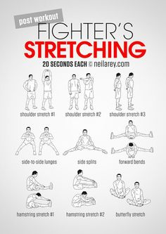 Don't forget to stretch!