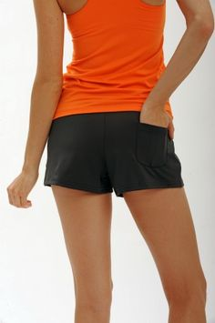 PARKER Short with Panty - Quenchwear is just $25 in Espresso. The perfect sport short: in the water, on the tennis court or just running around. Includes a built-in panty and sun protection!