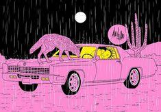 Psychedelic Art, Art Pop, Romantic Humor, 2048x1152 Wallpapers, Dark Art Illustrations, Cute Couple Cartoon, Hippie Art, Feminist Art, Flash Art