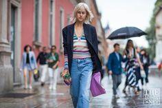 The Best Women's Street Style | Men's Fashion Week S/S17