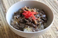 Gyudon (Beef Bowl) Recipe