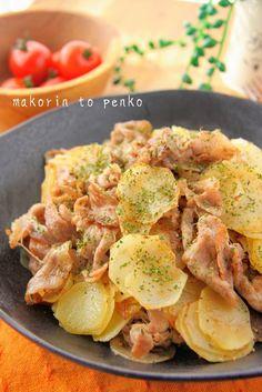 簡単!驚きの美味しさ*豚肉とじゃがいものガーリックソルト炒め by まこりんとペン子 | レシピサイト「Nadia | ナディア」プロの料理を無料で検索