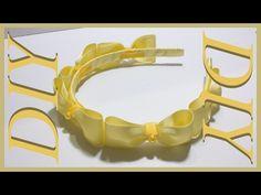 Como Hacer Lazos DIY #45 Bello Cintillo de Lacitos - YouTube