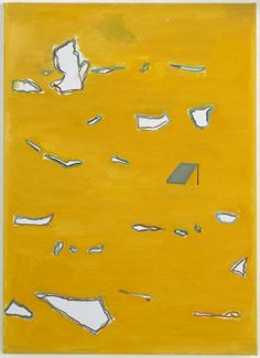 "Raoul De Keyser (1930-2012) - "" Resonant"", 2003, Oil on canvas, 35 2/5 x 25 3/5 inches (90 x 65 cm)"