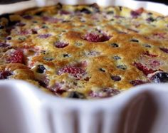 Berry Clafoutis | Honest Fare
