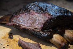 The Only Recipe You Need For Barbecue Beef Ribs Texas Style Bbq Beef Ribs, Beef Back Ribs, Beef Short Ribs, Carne Asada, Smoked Beef Ribs Recipe, Smoked Ribs, Rib Recipes, Smoker Recipes, Traeger Recipes