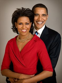 and his first lady