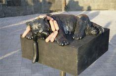 Кот с сосисками. Кузбасс, Кемеровская область.