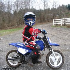 How to get your kid started racing dirt bikes. Just got my boys 1 each they love it!!!