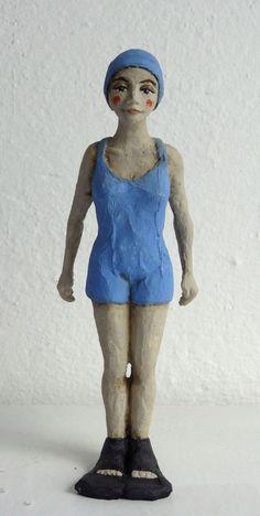 Escultura Nadadora