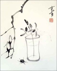 Although Baishi wasn't the first artist to focus on small things in nature, he was highly recognized for his thoughtful and lyrical approach in depicting these subjects.