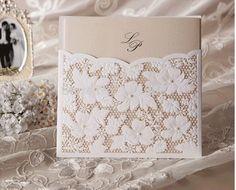 O envio gratuito de 100 pçs/lote Laser Cut flor Lace bolso cartão do convite do casamento cartão do convite do convite do aniversário do negócio em Decoração de festa de Casa & jardim no AliExpress.com | Alibaba Group