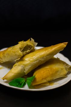 Topinambur pitagorico! Pasta fillo rolls stuffed with topinambur cream!