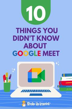 10 Things You Didn't Know About Google Meet - SULS0110 Learning Courses, Learning Resources, Teaching Tools, Teacher Resources, Teaching Strategies, Technology Integration, Technology Tools, Cult Of Pedagogy, Instructional Coaching