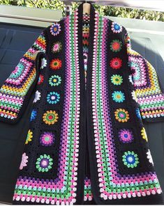 Granny Square jacket, anyone? |